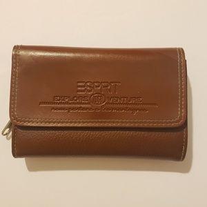 Esprit brown wallet